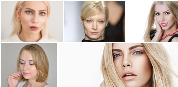 Макияж для блондинок 2021
